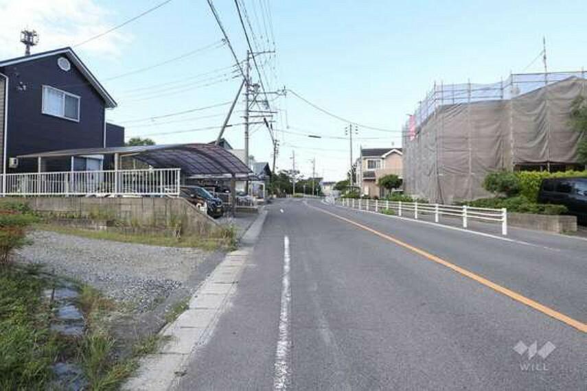 現況写真 豊田西バイパス(国道153号線)に約550mでアクセスでき、車での移動がスムーズにできます。