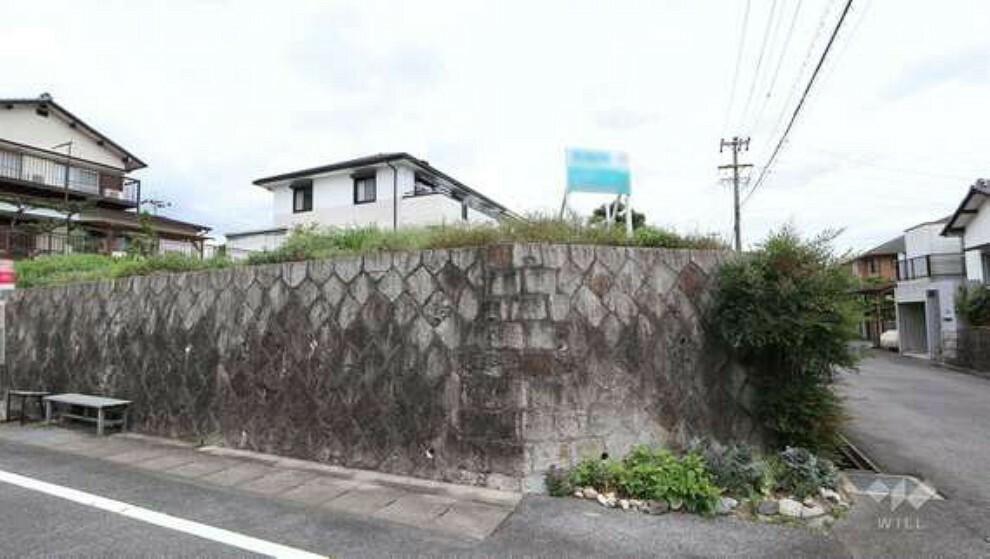 現況写真 この物件は名鉄豊田線「米野木」駅から北東へ徒歩37分、日進市米野木町北山にある建築条件のない土地です。