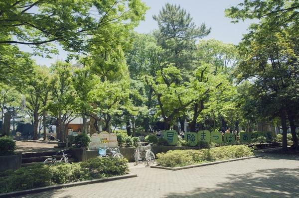 公園 冒険松原あそび場 埼玉県草加市松江1丁目1