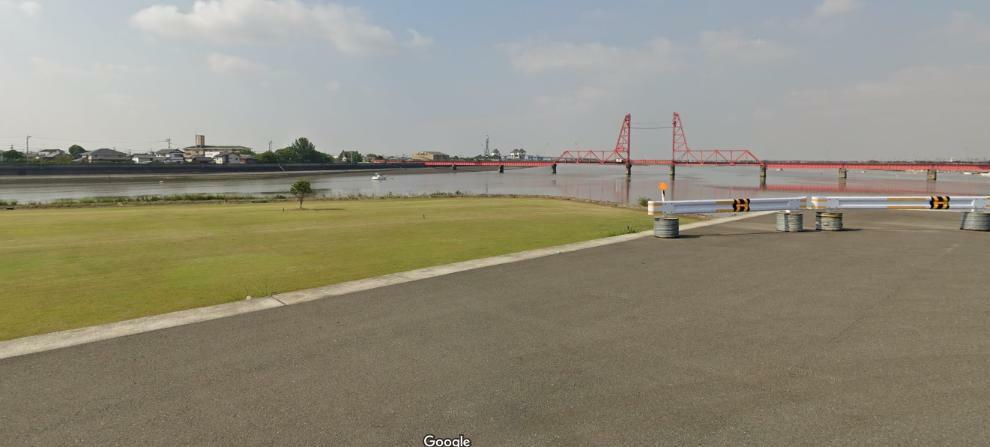 現況写真 徒歩4分で大中島の最南端より筑後川を一望できます