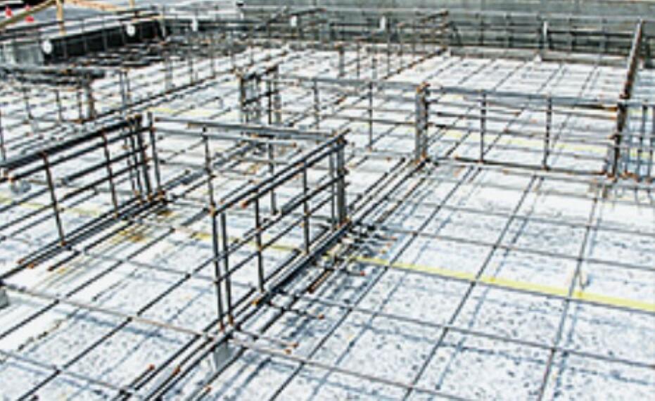 外観・現況 全戸の基礎の主筋に16mm鉄筋を採用