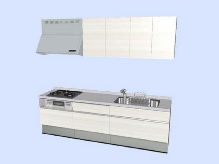 キッチン 【同仕様写真】システムキッチン(色についてはこの限りではありません。)
