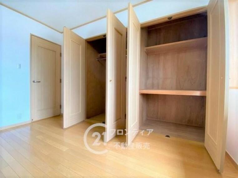 収納 豊富な収納スペースでお部屋がスッキリ片付きます