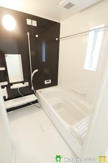 浴室 バスルームは心と体を整える場所。ゆとりのある空間は日々のバスタイムをより豊かなひとときに(2021年8月撮影)