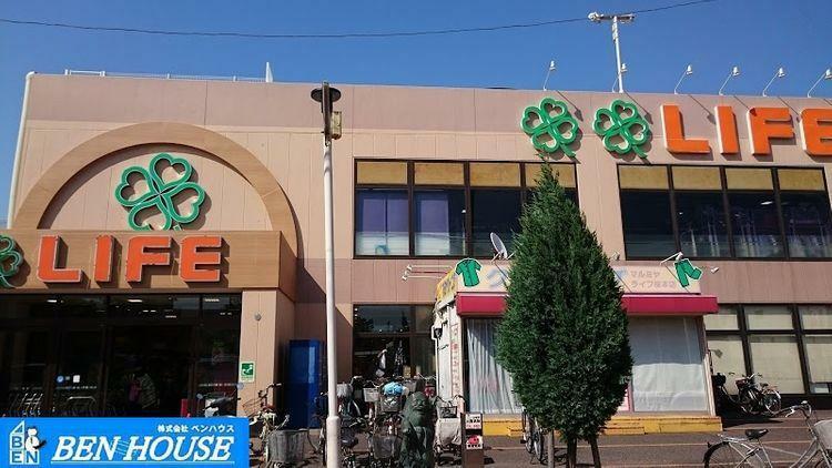スーパー ライフ 川崎桜本店 徒歩10分。
