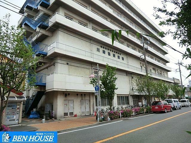 病院 川崎医療生活協同組合川崎協同病院 徒歩12分。