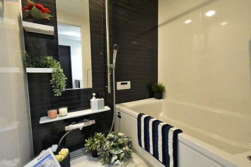 浴室 お子様と一緒に浸かれる広0いバスタブで、バスタイムをさらに楽しく.