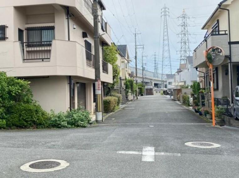 現況写真 周辺は閑静な住宅街です