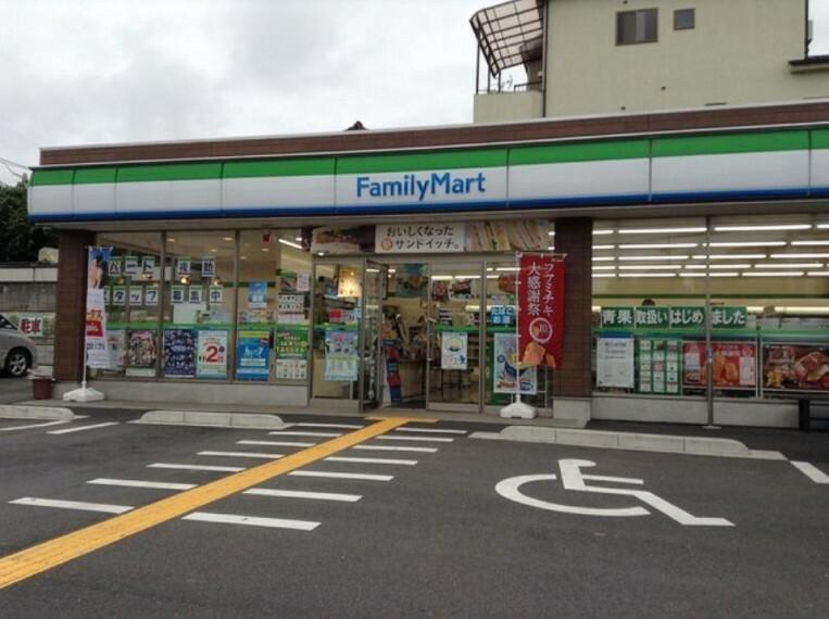 コンビニ ファミリーマート志木中宗岡店(徒歩3分。ちょっとしたお買い物に便利です^^)