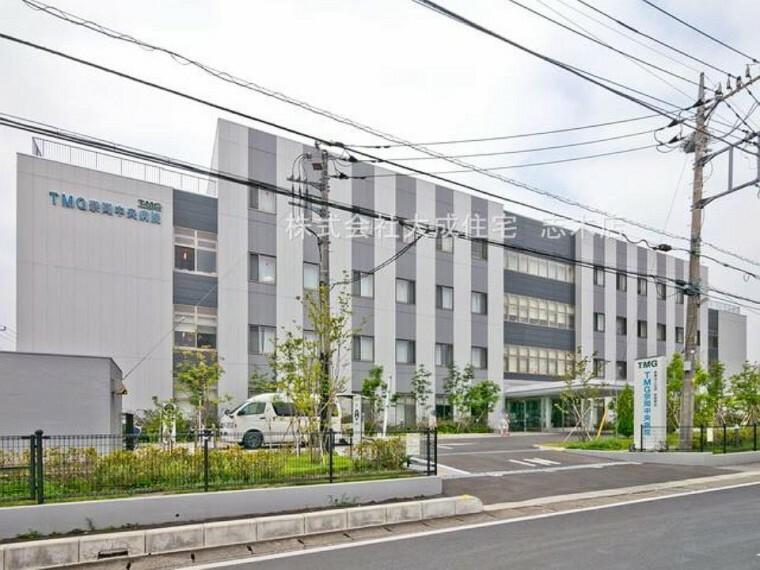 病院 TMG宗岡中央病院(徒歩10分。もしもの時に安心の近さ^^)