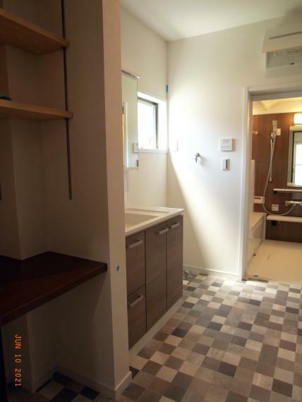 洗面化粧台 洗面脱衣室 室内(2021年6月)撮影