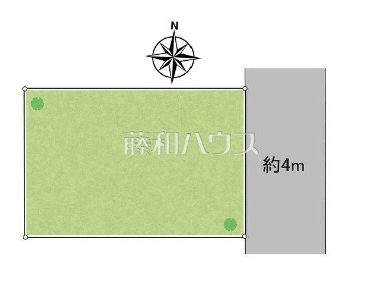 区画図 区画図 【小平市大沼町4丁目】