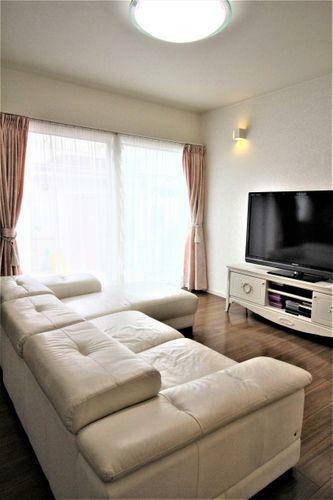 居間・リビング 明るい雰囲気のリビングです