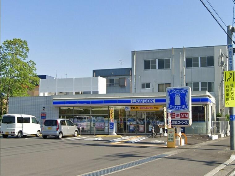コンビニ 【コンビニエンスストア】ローソン高知瀬戸一丁目店まで464m