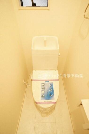 トイレ 温水洗浄便座付きトイレ!(2021年09月撮影)