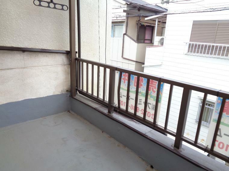 バルコニー 2階洋室西側バルコニー