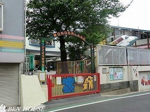 幼稚園・保育園 認定こども園健爽学園ゆりかご幼稚園 徒歩10分。