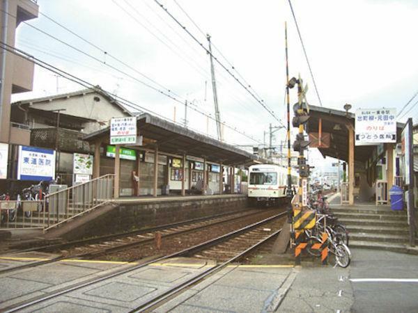 叡山電鉄 一乗寺駅 徒歩1分(80m)ここは一乗寺と呼ばれる京都で1番のラーメン激戦区です。駅を降りて5分ほど歩くとラーメン街道が並んでいます。