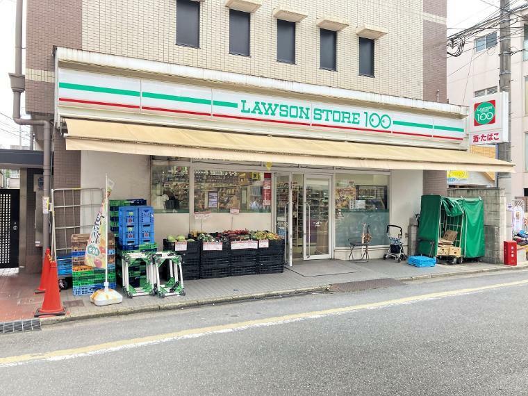 ローソンストア100 LS一乗寺駅前店 徒歩1分(80m)生活に便利なコンビニは徒歩1分!