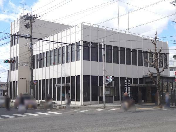 京都中央信用金庫一乗寺支店 徒歩2分(160m)