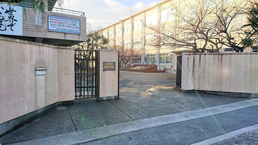 京都市立修学院中学校 徒歩5分(400m)通学らくらくの徒歩5分の近さ!朝が苦手なお子様も安心です!