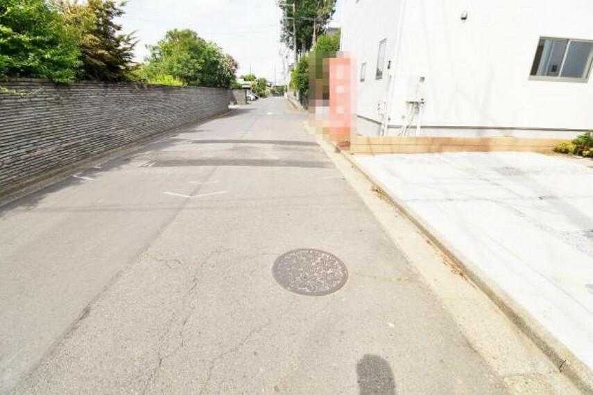 現況写真 前面道路:北側6m公道
