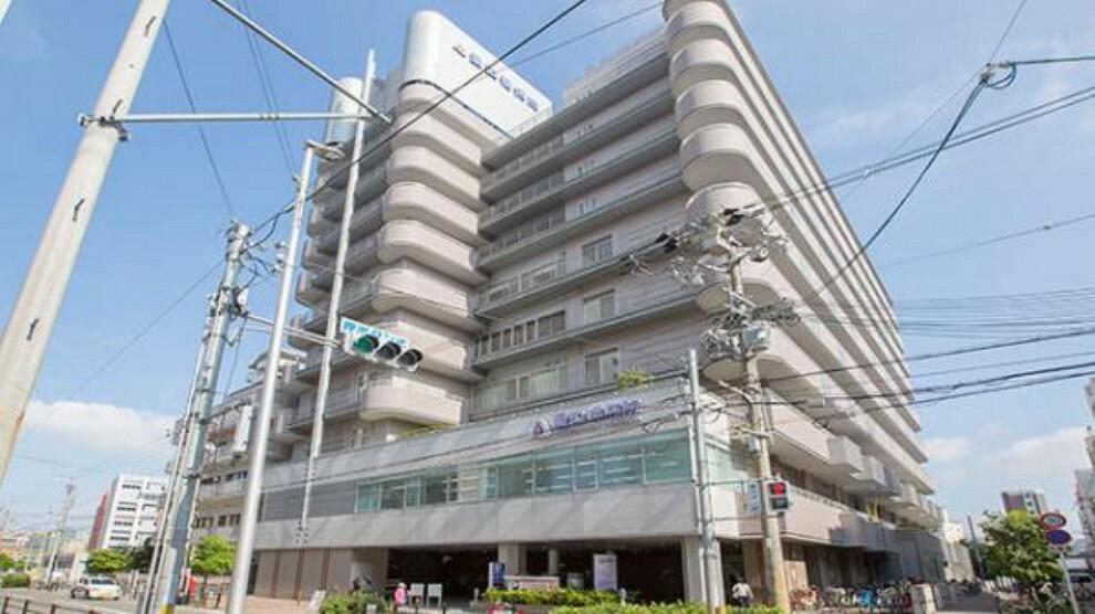 病院 愛染橋病院 約550m 徒歩7分