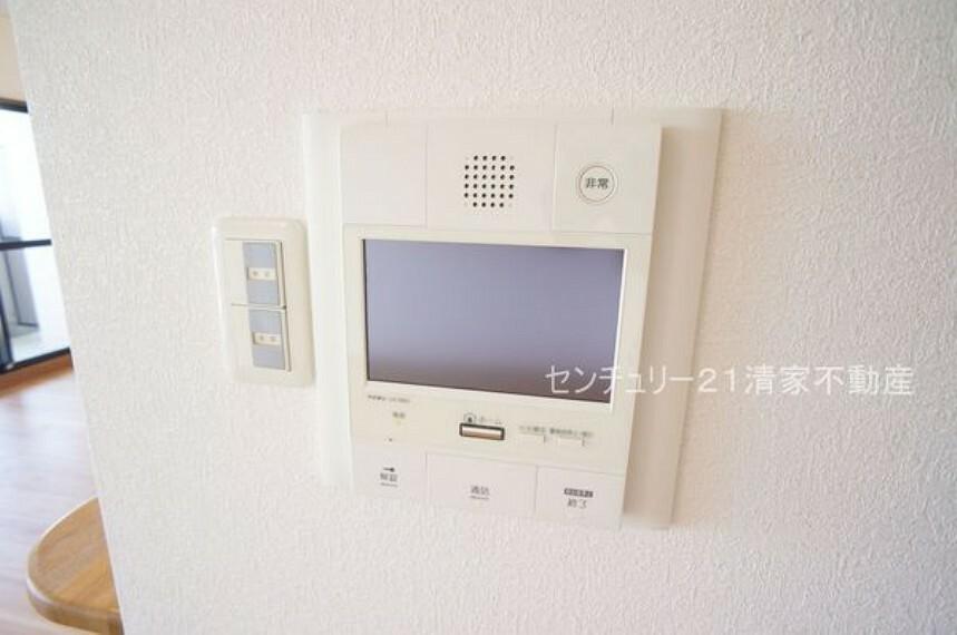 専用部・室内写真 来客時に便利なTVモニター付インターホン(2021年06月撮影)