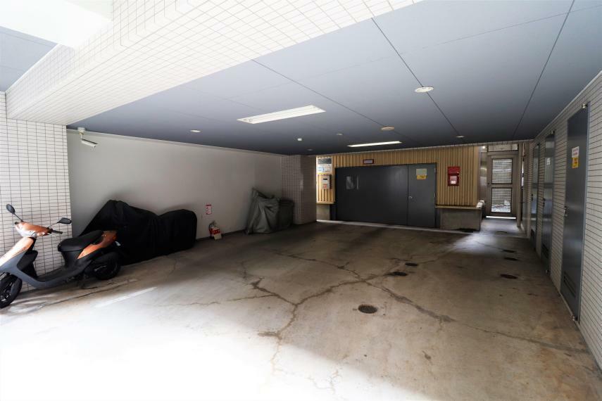 駐車場 機械式の立体駐車場です!
