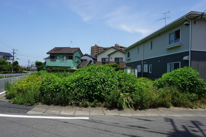 現況写真 建築条件が付いていないので、お好きな住宅メーカーで建てていただけます。
