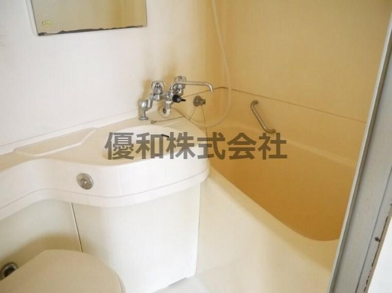 浴室 現況とは異なります。同タイプのお部屋の浴室となります。