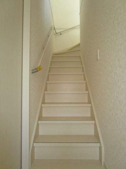 【1号棟】階段手摺り設置