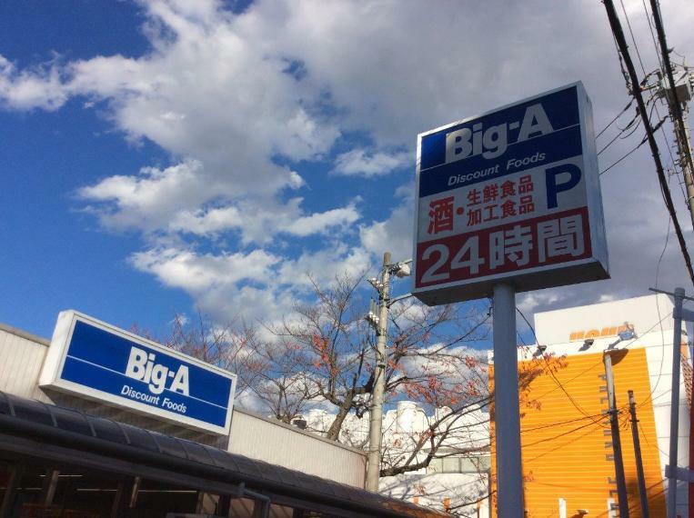 スーパー ビッグ・エー 新田店 埼玉県草加市金明町447