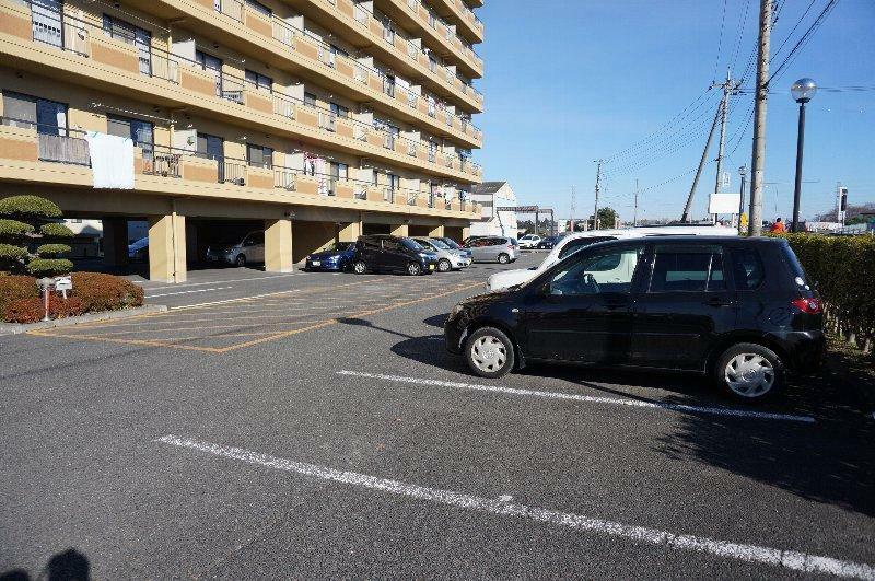 駐車場 駐車場です。