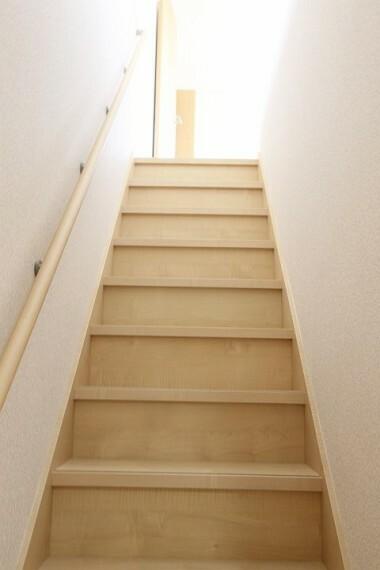【施工例】手すり付き階段
