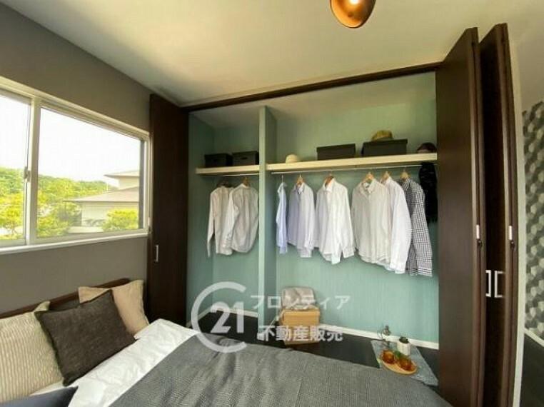 収納 全居室収納スペースつきでお部屋がスッキリ片付きます