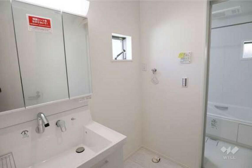 現況写真 洗面室[2021年9月6日撮影]