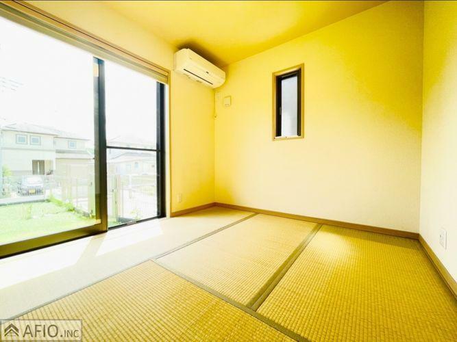 和室は、お子様と遊んだり、家事をしたり、お昼寝など使い勝手様々です