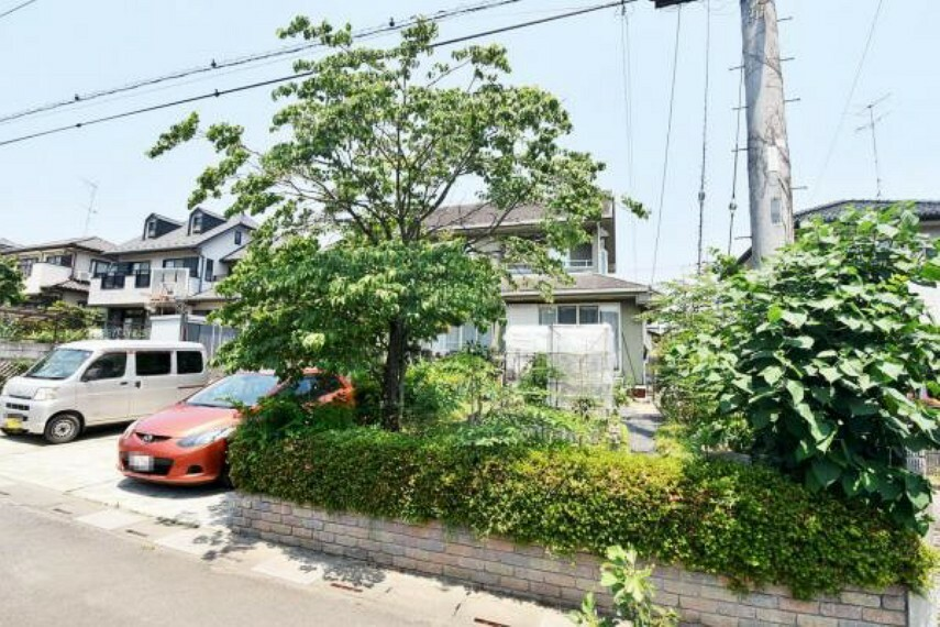 庭 ガーデニングも楽しめる敷地広々359.78平米