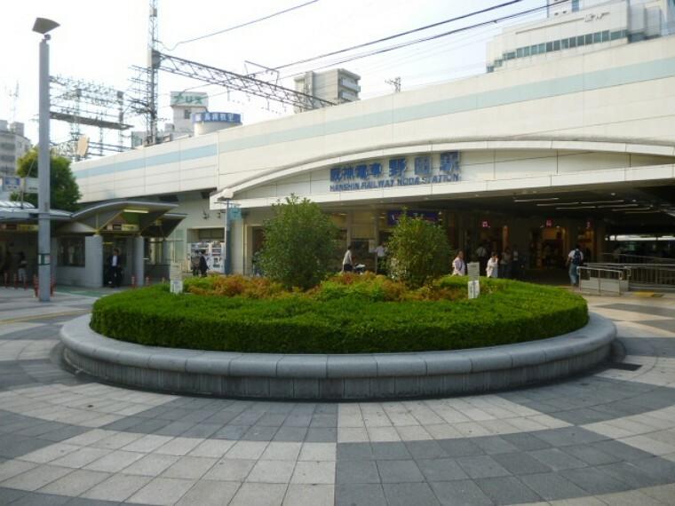 周辺の街並み 現地より徒歩約12分の阪神本線野田駅。神戸方面へは乗り換えなしでアクセス。