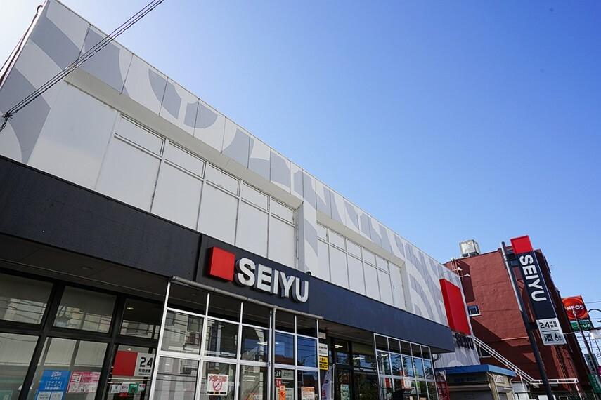 スーパー 西友 中河原店(徒歩13分) 駅からの帰り道に寄れます。共働き世帯に嬉しい24時間営業