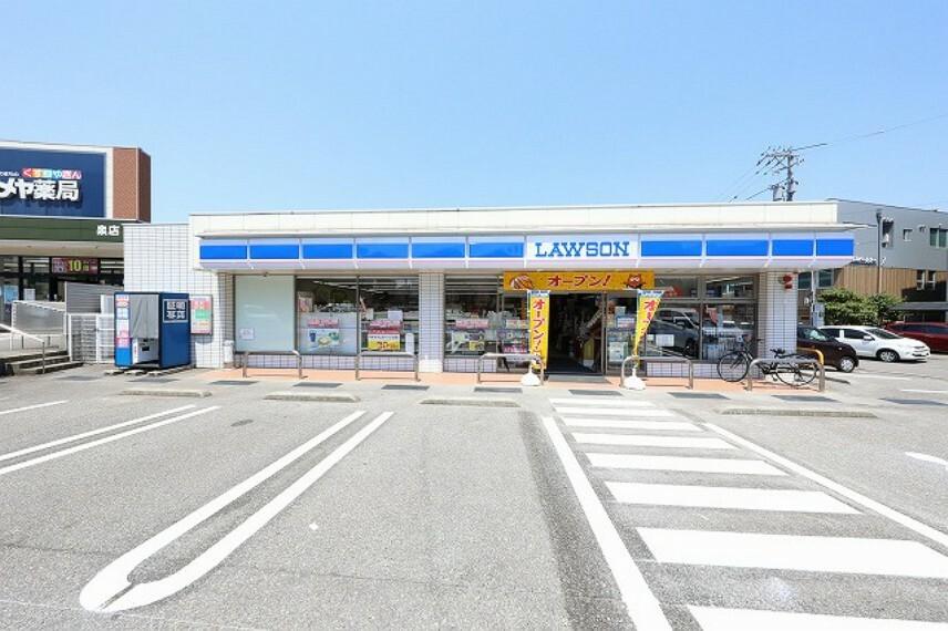 コンビニ 【コンビニエンスストア】ローソン 金沢泉店まで521m