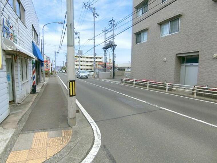 現況写真 周辺道路です。