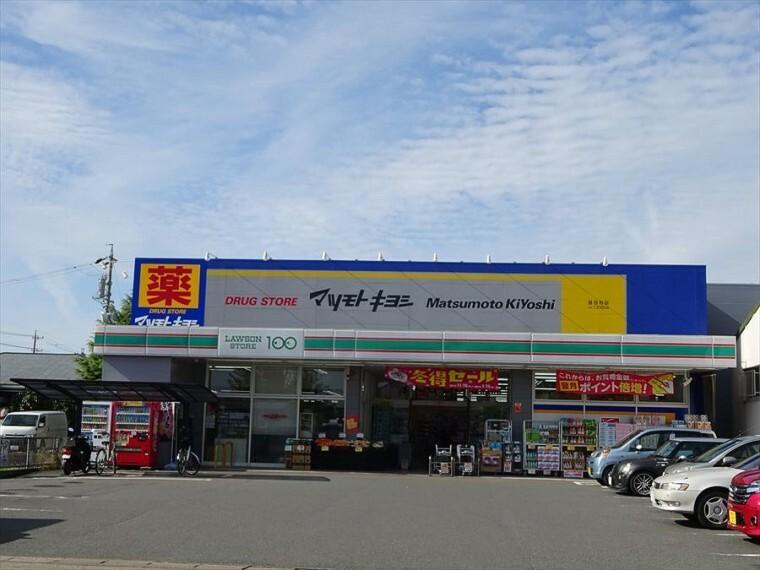 ドラッグストア 「マツモトキヨシ甚目寺店」 営業時間/9:00~24:00 夜は24時まで営業しているのでお仕事終わりの買い物にも便利です。