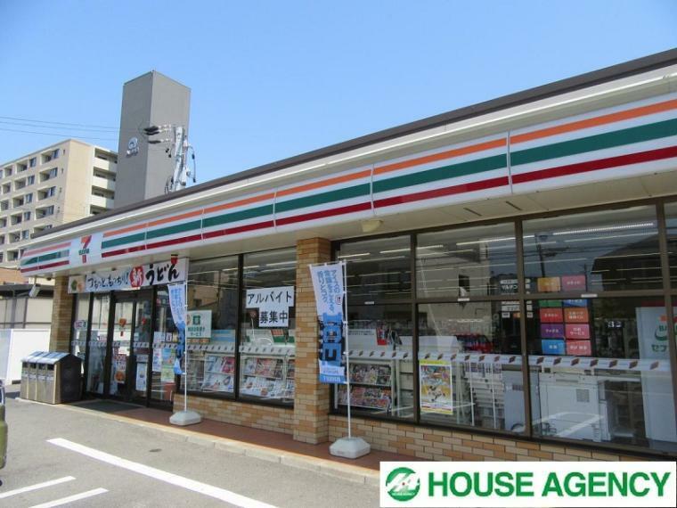 コンビニ セブンイレブン清須須ケ口店  徒歩11分の距離に24時間営業のコンビニがあるので夜食の買い出しやお子様の急なお弁当時に重宝します!
