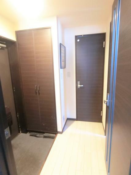 ・ゆとりある廊下スペース