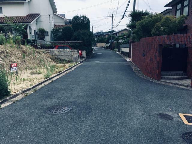 現況写真 北側道路約5.6m