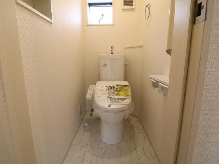 トイレ ウォシュレット付きのトイレ(1階2階共通)!