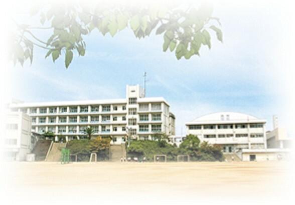 中学校 【中学校】高丘中学校まで439m
