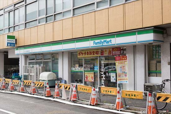 コンビニ ファミリーマート サンズ田端新町店